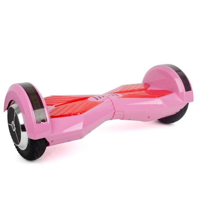 Гироборд-скутер электрический 4400 мАч, колеса 8' Pink SS-0806
