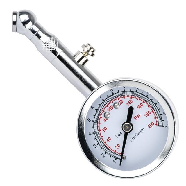 Измеритель давления в шинах цифровой с возможностью измерения глубины протектора (брелока) AT-1004