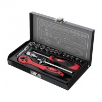 "Набор инструмента 1/4"", 17ед. INTERTOOL ET-6017"