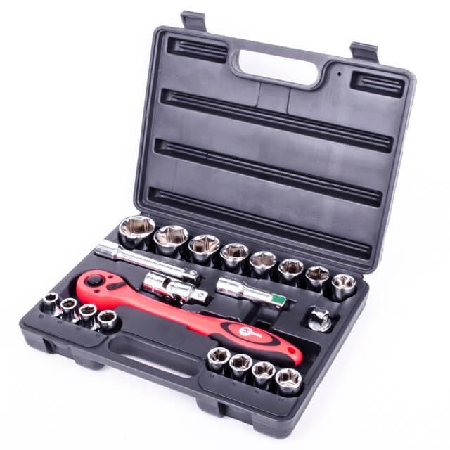Профессиональный набор инструмента 21 ед. INTERTOOL ET-6021  Профессиональный ...