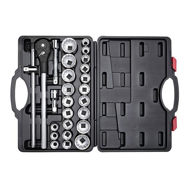 Профессиональный набор инструментов 3/4', 26 ед INTERTOOL ET-6026