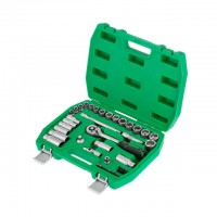 "Набор инструмента 39ед. 3/8"" Cr-V INTERTOOL ET-6039SP"