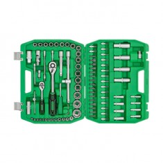 "Набор инструментов 1/2"" & 1/4"" 94ед INTERTOOL ET-6094SP: фото 2"