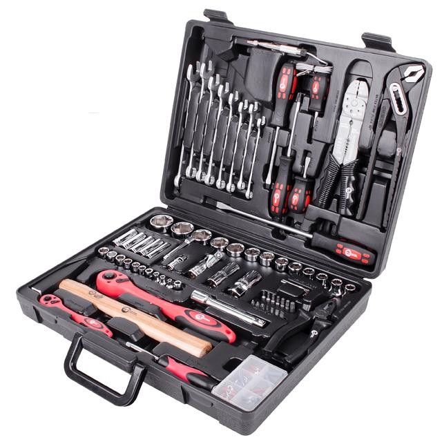 Профессиональный набор инструмента 1/2' & 1/4' 99 ед. INTERTOOL ET-6099