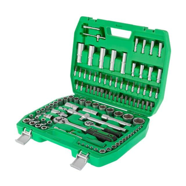 Набор инструментов 1/2' & 1/4' 108ед. INTERTOOL ET-6108SP