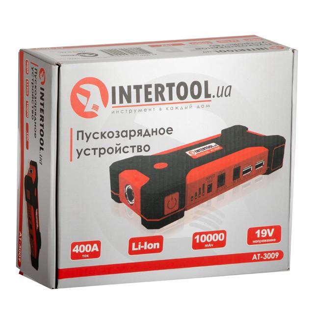 Пускозарядное устройство 10000 mАч. INTERTOOL AT-3009