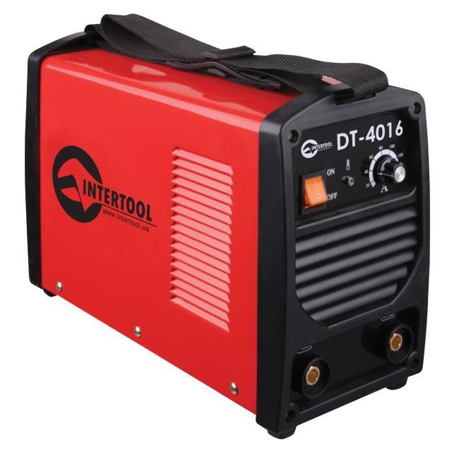 Сварочный инвертор 230 В, 5,3 кВт, 30-160 А INTERTOOL DT-4016