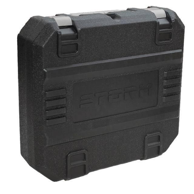 Шуруповерт STORM, 18В, 2 скорости, 1200об/мин, 2 аккумулятора, 1 час зарядки INTERTOOL WT-0318