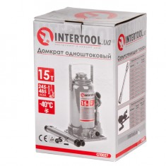 "Домкрат ""столбик"" одноштоковый 15т INTERTOOL GT0027: фото 5"