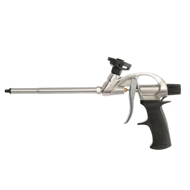 Пистолет для пены с тефлоновым покрытием держателя баллона + 4 нас. INTERTOOL PT-0604