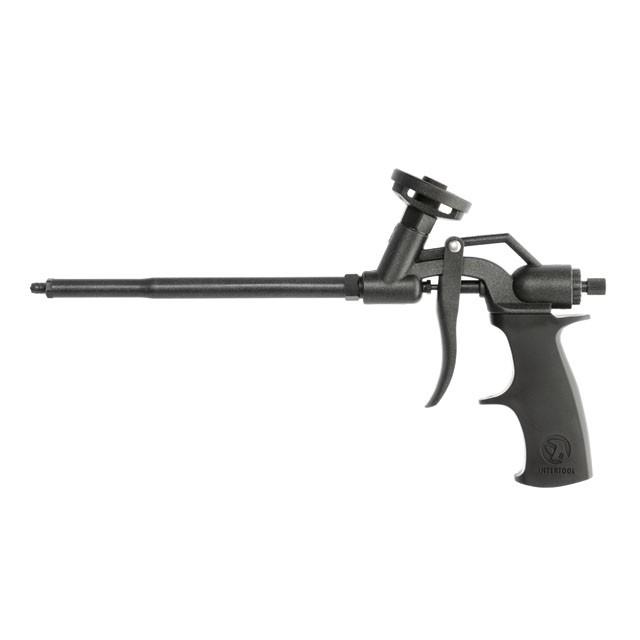 Пистолет для монтажной пены с полным тефлоновым покрытием профессиональный INTERTOOL PT-0606