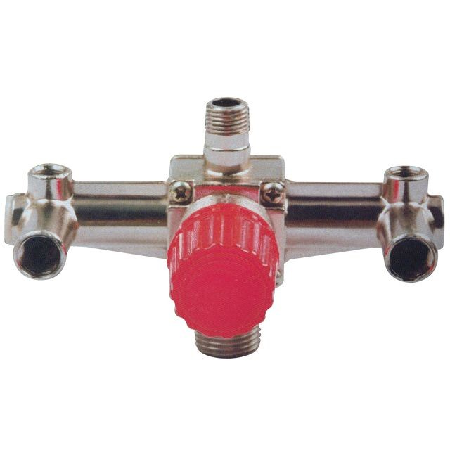 Контрольно-распределительный блок компрессора с регулятором давления INTERTOOL PT-9092