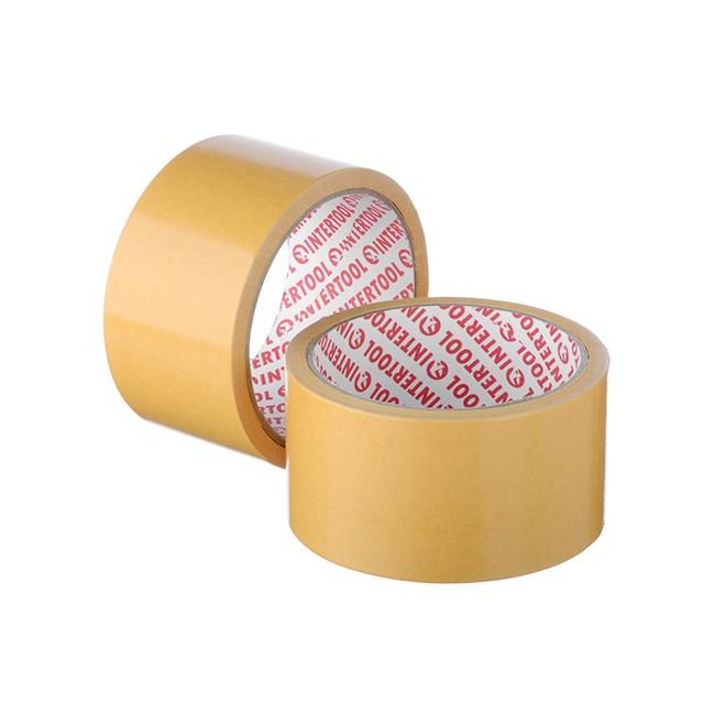 Скотч двухсторонний 50 мм*10 м на полипропиленовой основе INTERTOOL KT