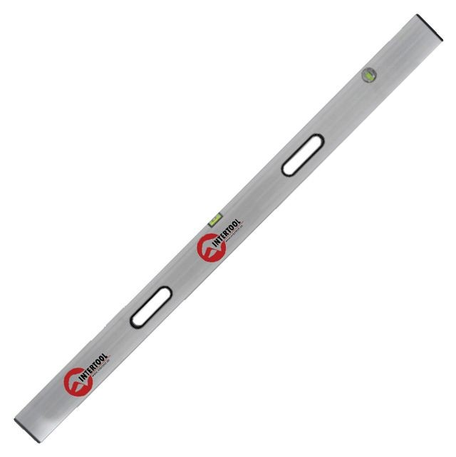 Правило-уровень 150 см, 2 капсулы, вертикальный и горизонтальный с ручками INTERTOOL MT-2115