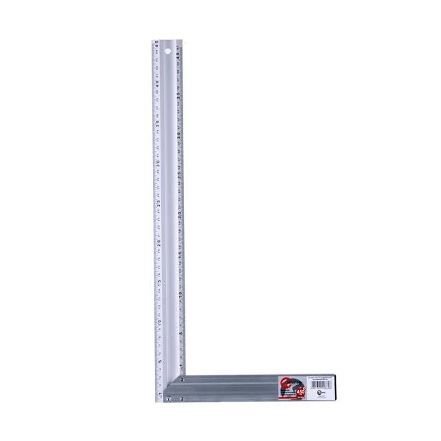Угольник строительный алюминиевый 450мм INTERTOOL MT-2066