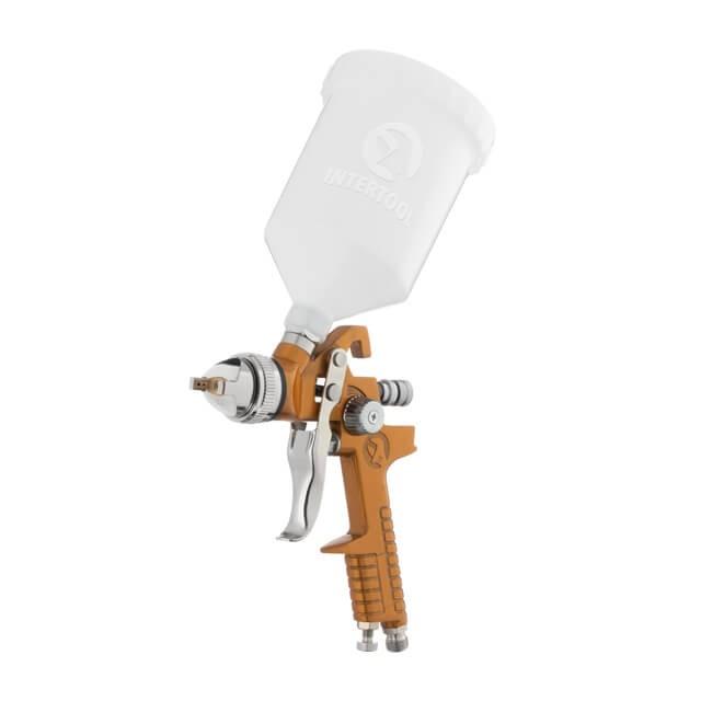 HVLP BRONZE PROF Краскораспылитель 1,5 мм, верхний пластиковый бачок 6