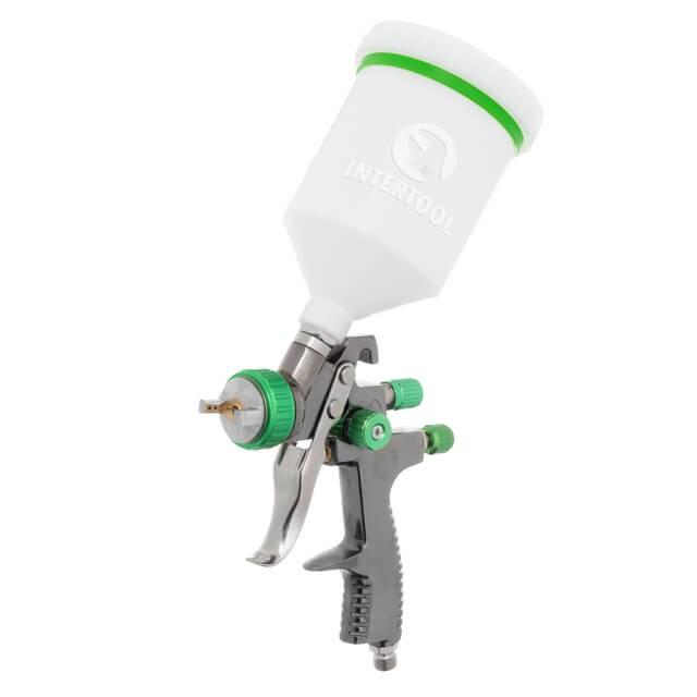 LVLP GREEN NEW Профессиональный краскораспылитель 1,3 мм, верхний плас
