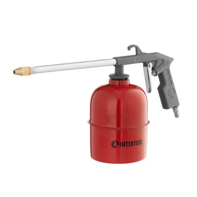 Пневмопистолет для распыления жидкостей INTERTOOL PT-0704
