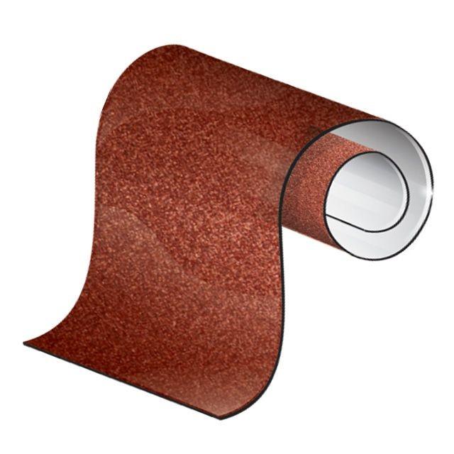 Шлифовальная шкурка на тканевой основе К80, 20 cм x 50 м INTERTOOL BT-