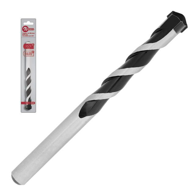 Сверло по бетону 4x75мм под ударную дрель B&W INTERTOOL SD-4004