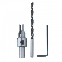 Сверло конфирматное 4,0 / 6,3 мм INTERTOOL SD-0240