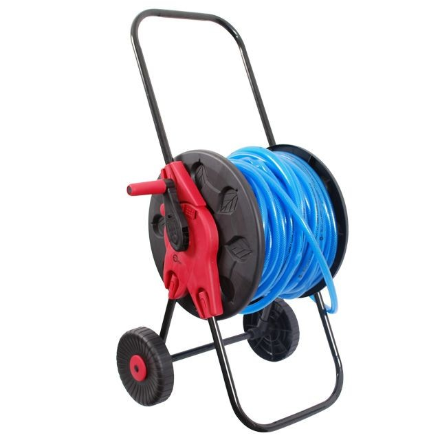 Катушка на колесах для шланга 1/2' 60 м, PP, steel, ABS INTERTOOL GE-3001
