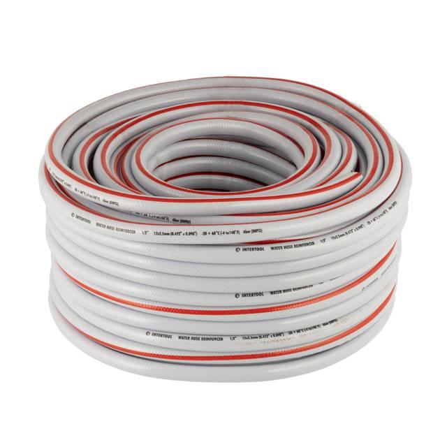 Шланг для полива 5-ти слойный 1/2', 50м, армированный PVC INTERTOOL GE-4135