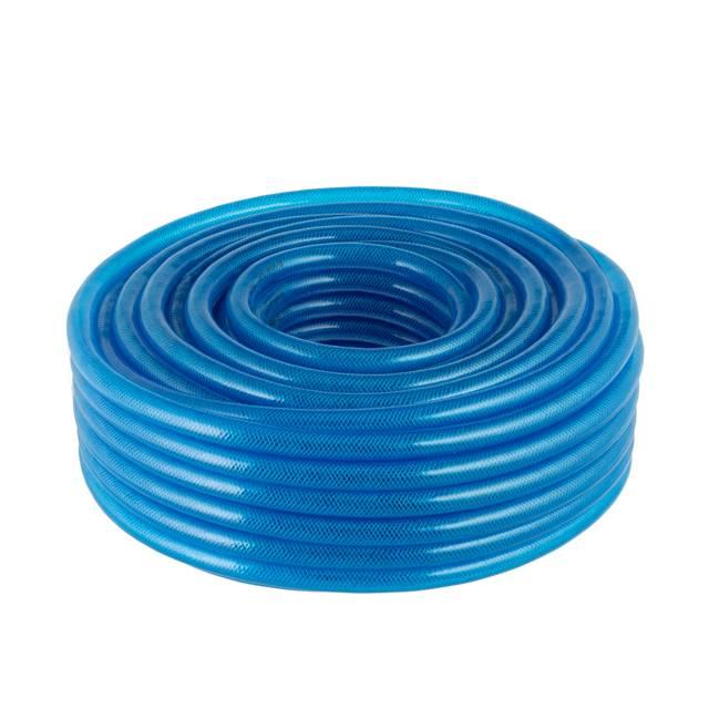Шланг для воды 3-х слойный 3/4', 50 м, армированный PVC INTERTOOL GE-4076