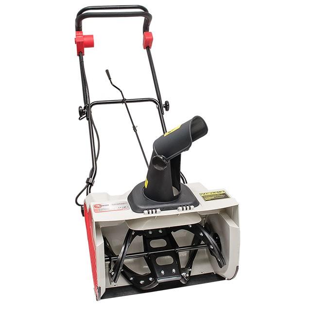 Снегоуборщик электрический, 1,6 кВт, рабочая ширина 500 мм, с регулировкой направления выброса снега INTERTOOL SN-1600