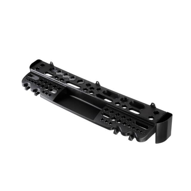 Полка с отверстиями под инструмент пластиковая 610x160x45 мм INTERTOOL BX-0002