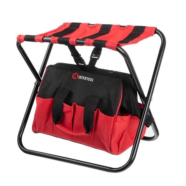 Складной стул с сумкой, универсальный до 90 кг 420 мм x 310 мм x 360 м