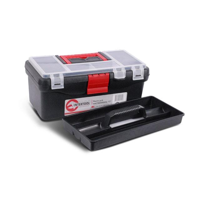 Ящик для инструментов, 13' 318x175x131 мм INTERTOOL BX-0125