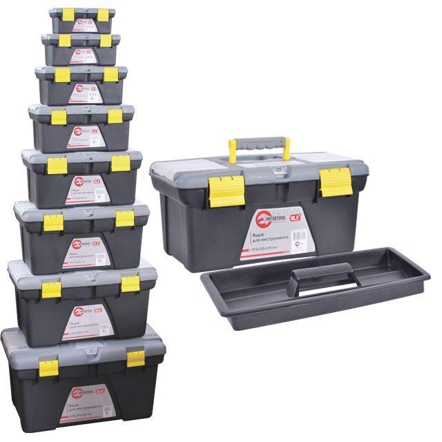 Комплект ящиков для инструментов, 8 шт INTERTOOL BX-0308