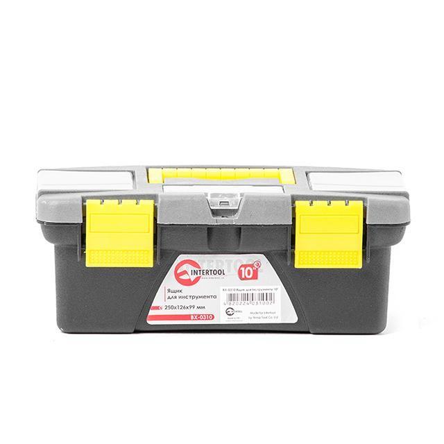Ящик для инструмента 10' 250*126*99мм INTERTOOL BX-0310