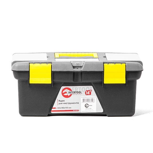 Ящик для инструмента 14' 355*182*153мм INTERTOOL BX-0314