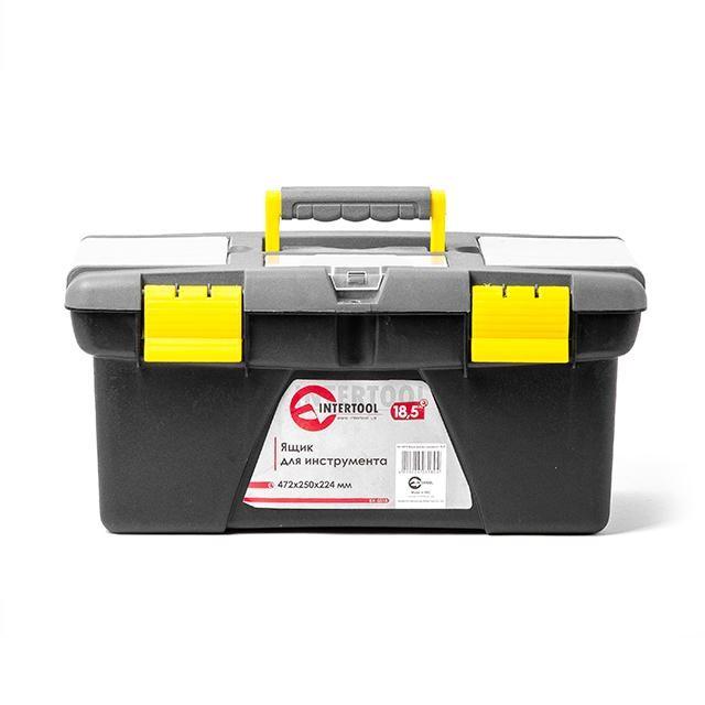 Ящик для инструмента 18.5' 472*250*224мм INTERTOOL BX-0318