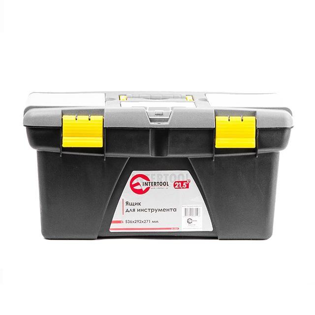 Ящик для инструмента 21.5' 536*292*271мм INTERTOOL BX-0321