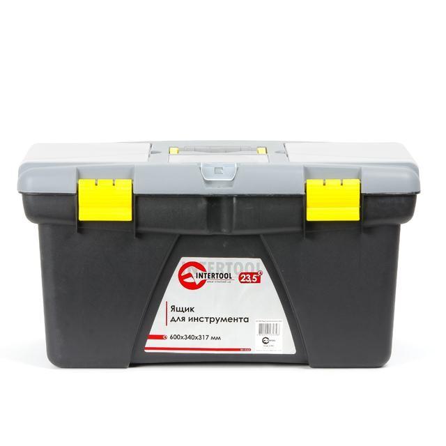 Ящик для инструмента 23.5' 600*340*317мм INTERTOOL BX-0323