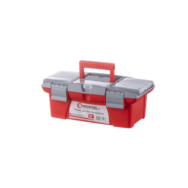 Ящик для инструментов, 13' 335x185x130 мм INTERTOOL BX-0413