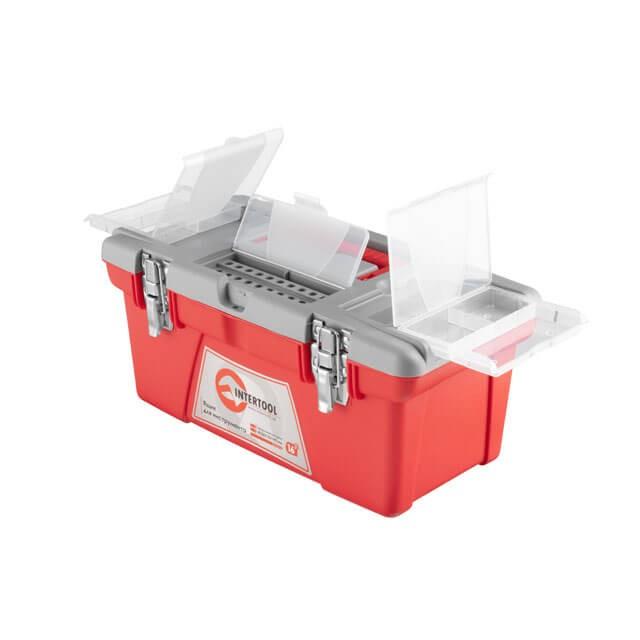Ящик для инструментов с металлическими замками, 16