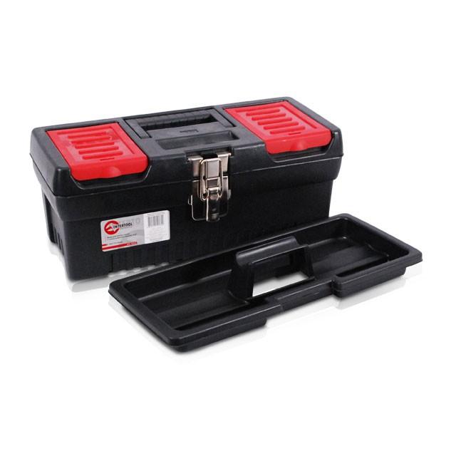 Ящик для инструментов с металлическими замками, 13' 330x177x135 мм INTERTOOL BX-1013