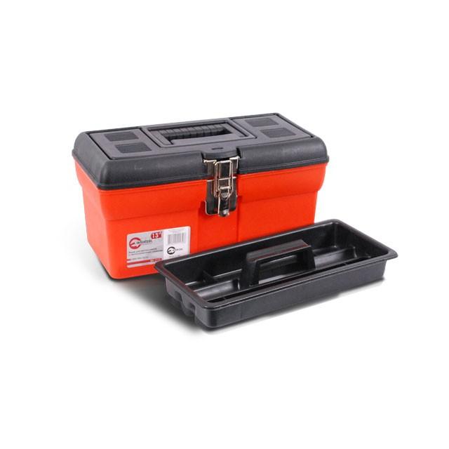 Ящик для инструмента с металлическими замками 13' 330x180x165 мм INTERTOOL BX-1113