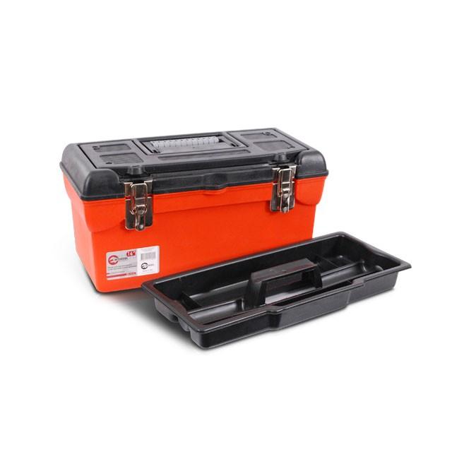 Ящик для инструмента с металлическими замками 16' 396x216x164 мм INTERTOOL BX-1116
