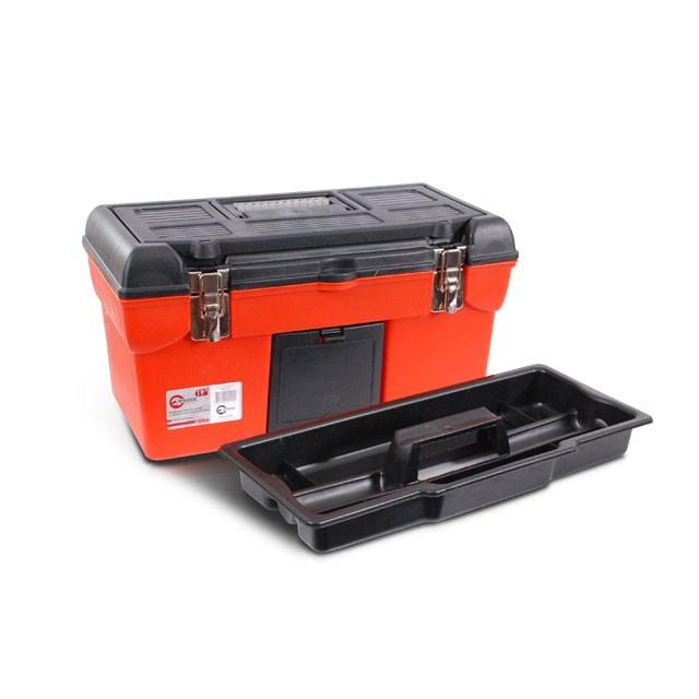 Ящик для инструмента с металлическими замками 19' 483x242x240 мм INTERTOOL BX-1119