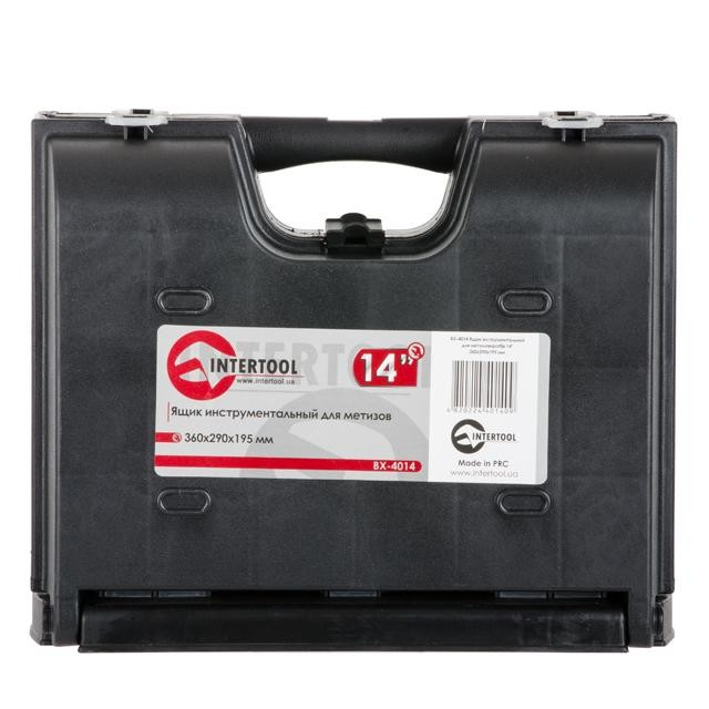 Ящик инструментальный для метизов, 14' 360x290x195 мм INTERTOOL BX-4014