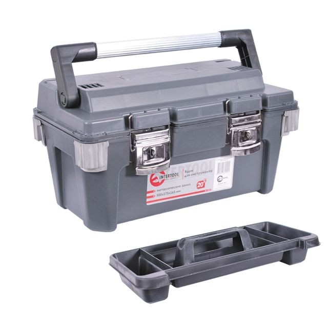 Ящик для инструмента с металлическими замками 20