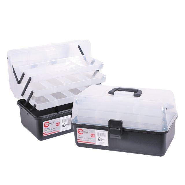 Ящик для инструментов, 14,5' 365x215x200 мм INTERTOOL BX-6114