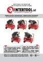 Инструкция Компрессор 50 л, 1.5 кВт, 220 В, 8 атм, 206 л/мин. INTERTOOL PT-0003