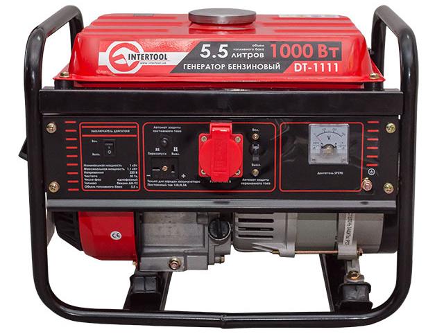 Генератор бензиновый с максимальной мощностью 1,2 кВт